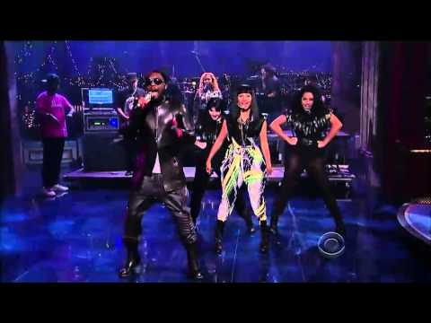 Nicki Minaj and Will.I.Am   Check It Out Live Performance HD