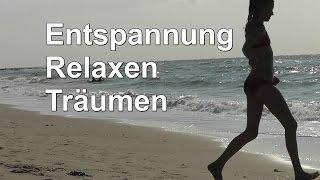 Entspannung Relaxen Träumen Stressabbau Körper und Geist entspannen Meer Sonnenuntergang