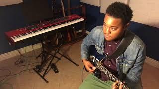 Bruno Mars - Finesse (Electric Guitar Cover) feat. Cardi B