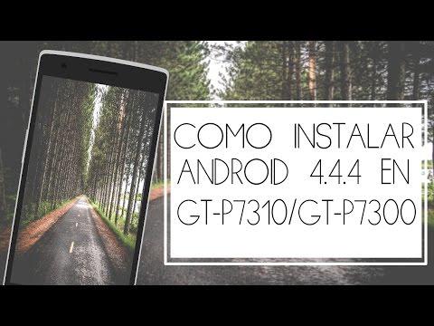 Instalar CM11 en una tablet GT-P7310/GT-P7300
