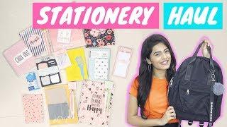 Back To School Supplies Haul 2018 + Giveaway | Dhwani Bhatt