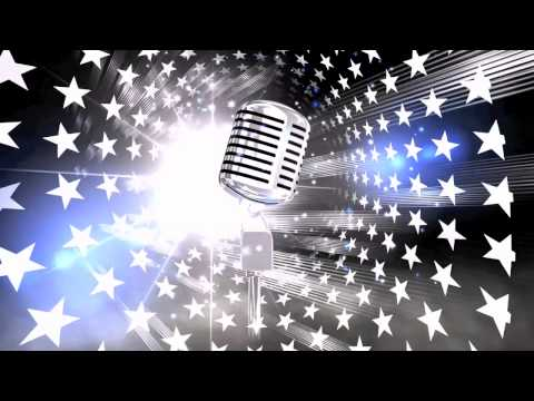 HD karaoke theme video