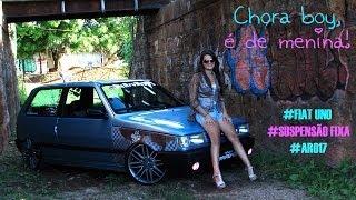 CHORA BOY É DE MENINA -Jessica-Fiat Uno-Suspensão Fixa-Aro17