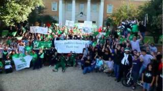 UNT Lip Dub: Happy Holidays from UNT (2011)