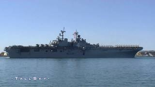 US Navy: USS Boxer (LHD-4) 2011 Deployment (San Diego, February 2011)