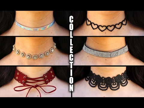 My 25+ Choker Collection 2017 - With LINKS    Lucykiins