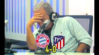 El Bayern DA MIEDO | Reacción de Petón y narración de Ruben Martín del Bayern 4-0 Atleti