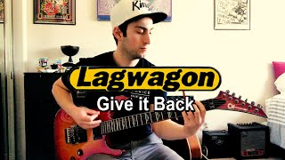 Lagwagon - Give it Back (guitar cover)