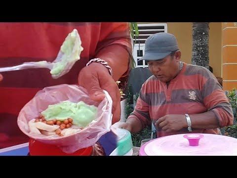 Indonesia Gorontalo street food-Es palabutung-(kuliner gorontalo)