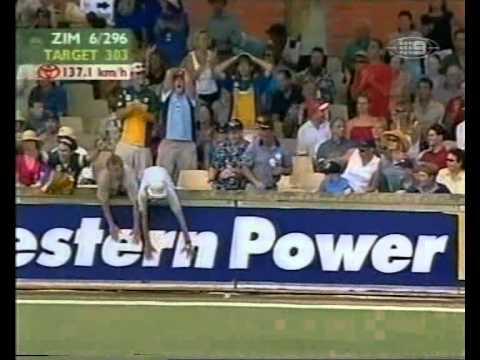 Doug Marillier INVENTOR OF SCOOP??? 2001 vs Australia PERTH