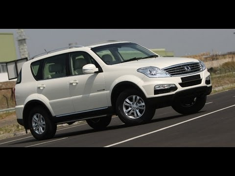 2012 SsangYong Rexton W in India walkaround