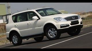 2012 SsangYong Rexton W in India walkaround