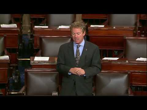 Rand Paul's BRILLIANT Speech on US Government Wasting Your Money