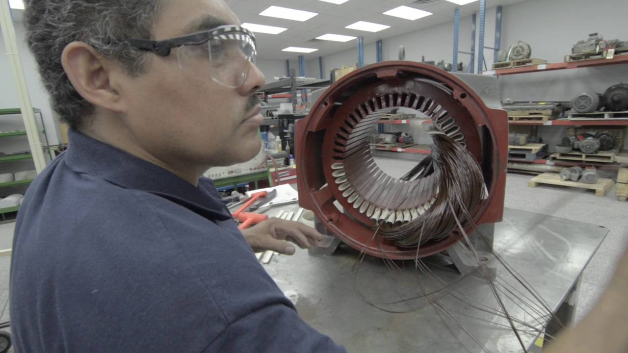 small resolution of electric motor rebuild disassembly and reassembly global electronic services youtube