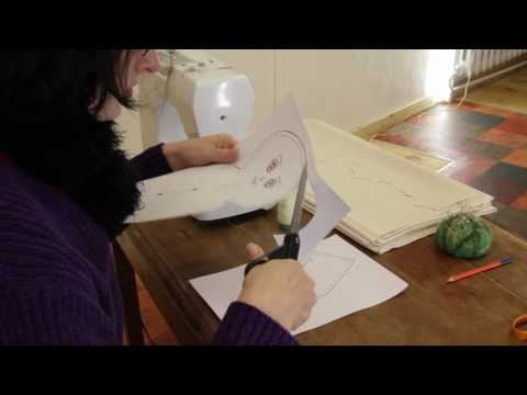 Rag Doll Making: Part 1 - Pattern - Printing - Drawing