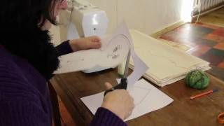 Rag Doll Making: Part 1 - Pattern - Printing - Drawing