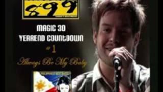 David Cook rules Magic 89.9 Yearend Countdown 2008