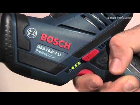 Видео обзор: Сабельная пила BOSCH GSA 12V-14 Solo без АКБ и ЗУ