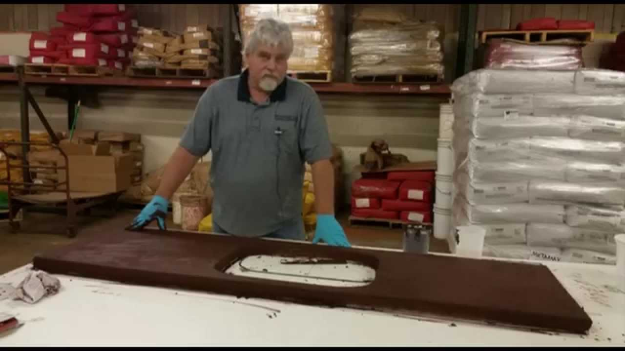 How To Make A Concrete Countertop Slurry Part 1 Youtube