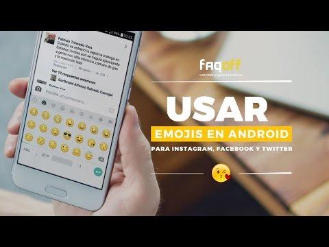 Emojis En Android Para Facebook, Instagram, Twitter...