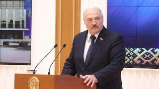 Лукашенко: У него на Россию полное замыкание сейчас! || Встреча с активом. Полная версия