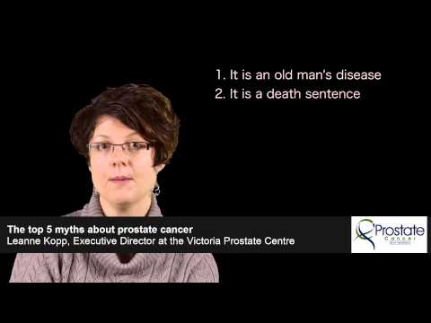The top 5 myths about prostate cancer - Leanne Kopp