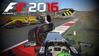 f1 2016 team crash compilation 4