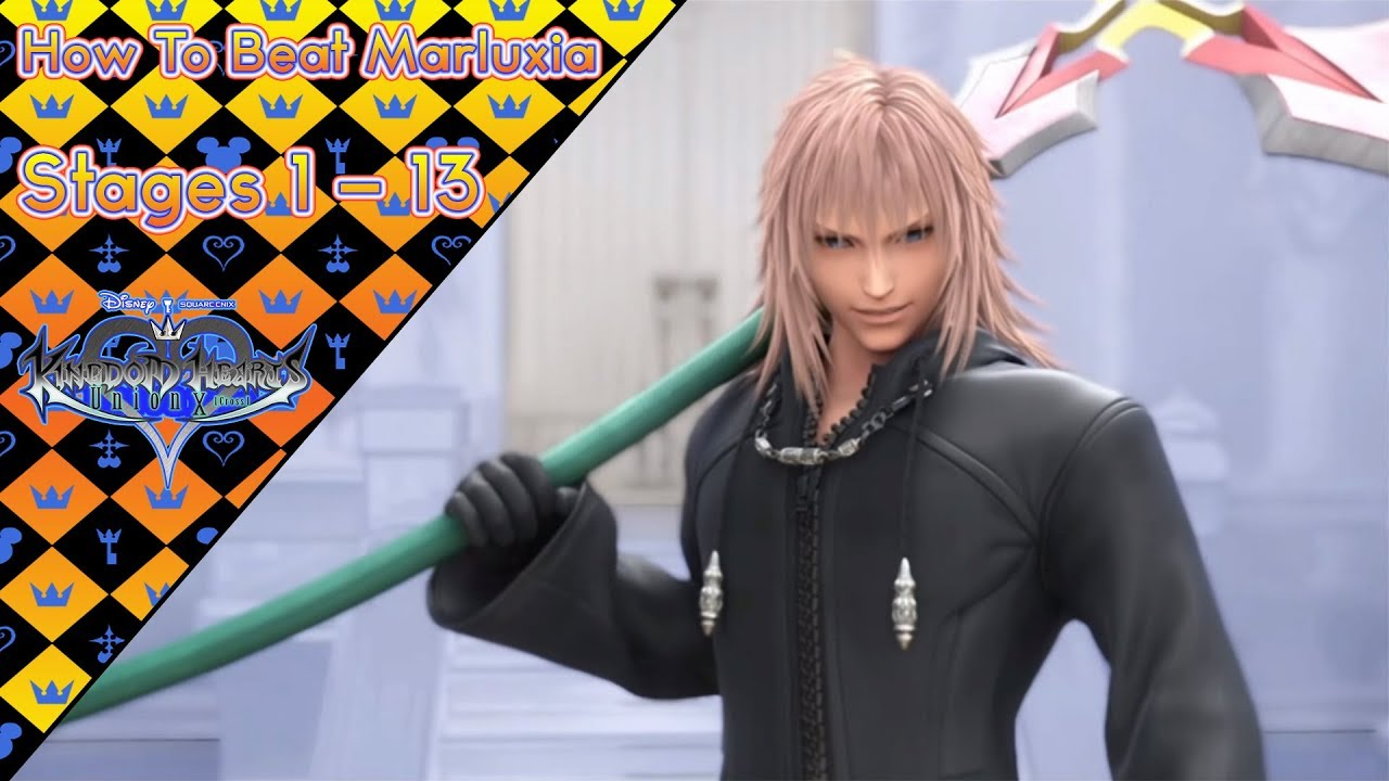 How To Beat Marluxia Stages 1 13 Organization Xiii Event Kingdom Hearts Union X Cross