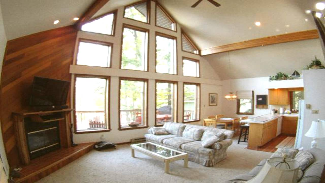 Pocono Mountain Vacation Rental Lake Harmony Home Sleeps