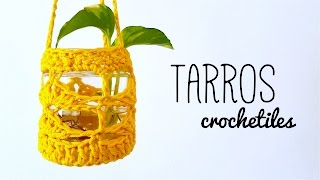 CROCHET JARS / CROCHET LANTERNS - step by step tutorial