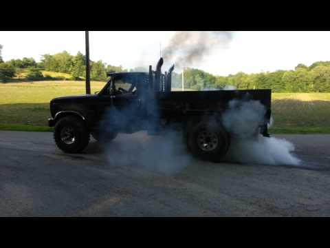 6.9 ford diesel burnout