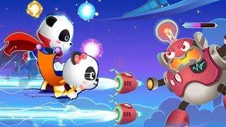 Fun Little Baby Panda's Hero Battle Game - Gameplay Walkthrough -  By Babybus Games
