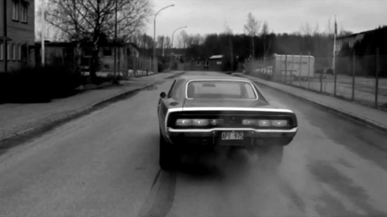 American Muscle Car Dodge Charger Music The Doors L A