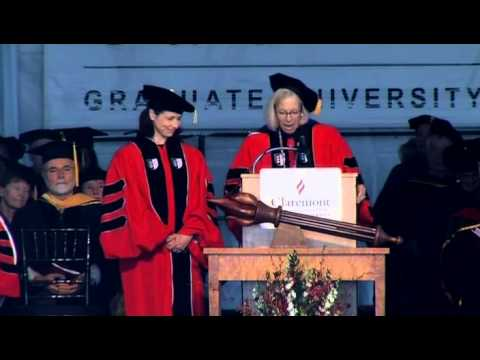 Claremont Graduate University Commencement 2015