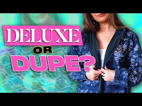 Thrift Flip 90's Inspired Fashion Trends (feat. @Sarah Dunk) | Deluxe or Dupe