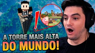 CONSTRUÍ A TORRE MAIS ALTA DO MINECRAFT #89