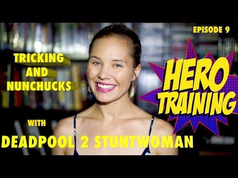 Deadpool 2 Stuntwoman Thekla Hutyrova | Hero Training Episode 9
