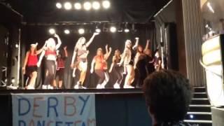 Derby Dance Team end of year showcase 2014 - Bedrock