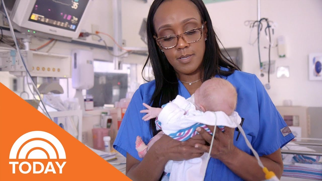 NICU Nurse Sandy Content On Having The 'Greatest Job' In The World, Even On The Bad Days |