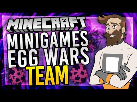 TEAM EGG WARS (Minecraft Minigames ExtremeCraft)