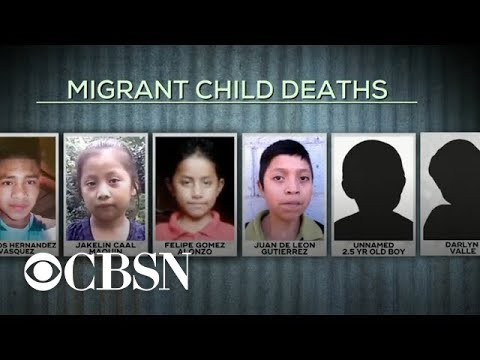 Migrant child who died in custody in 2018 was trying to reach her mother