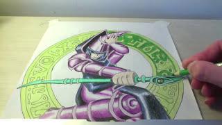 Drawing The Dark Magician