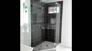 Unique Corner Shower Design Ideas, Stylish Corner Shower Remodeling Design Ideas #3
