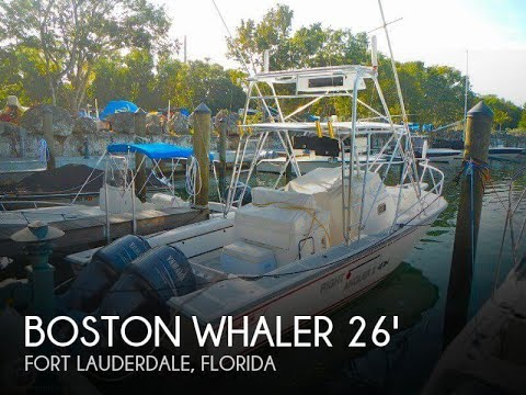 [SOLD] Used 1993 Boston Whaler Offshore Express 27 in Fort Lauderdale, Florida