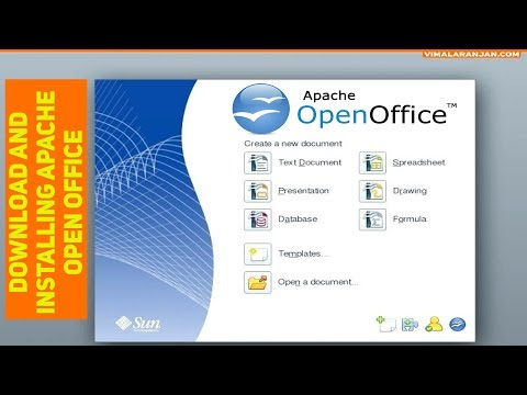 Open Office Tutorial Download And Installing Apache Open Office