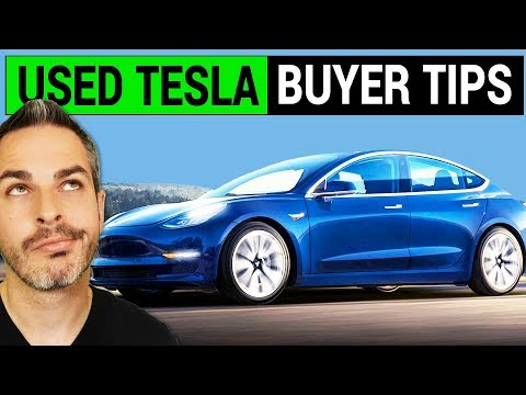 Used Tesla Model S or Model X Buyers Guide