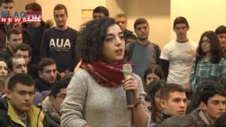 Slaq am «Եղեք անկախ, ակտիվ և սիրեք ձեր հայրենիքը»  վարչապետի այցը՝ Հայաստանի Ամերիկյան համալսարան