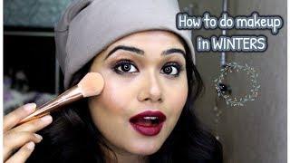 WINTER MAKEUP look 2018 || How to do full makeup in winters