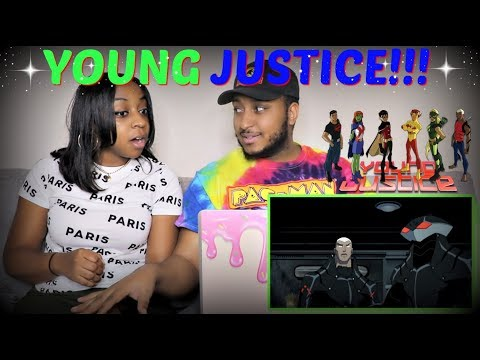 """""""YOUNG JUSTICE: OUTSIDERS"""" Official Comic-Con Trailer REACTION!!"""