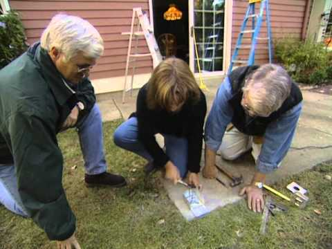 How To Build A Pergola Over A Patio Youtube